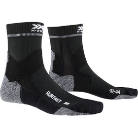 X-Socks Run Fast Skarpetki, opal black